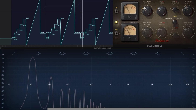 Fairchild 13 harmonics