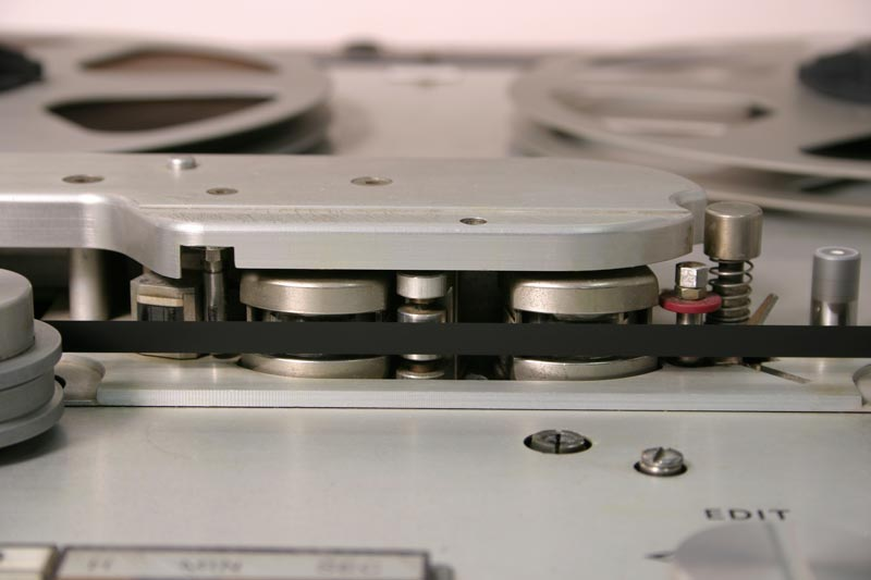 studer revox tape recorder delay heads