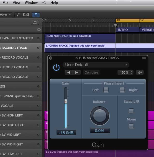 How to mix vocals to a backing track + FREE DOWNLOAD