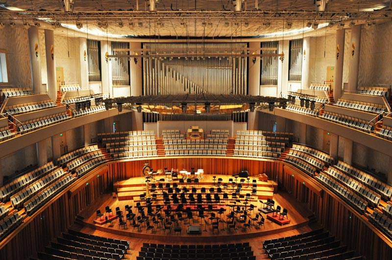 orchestral seating