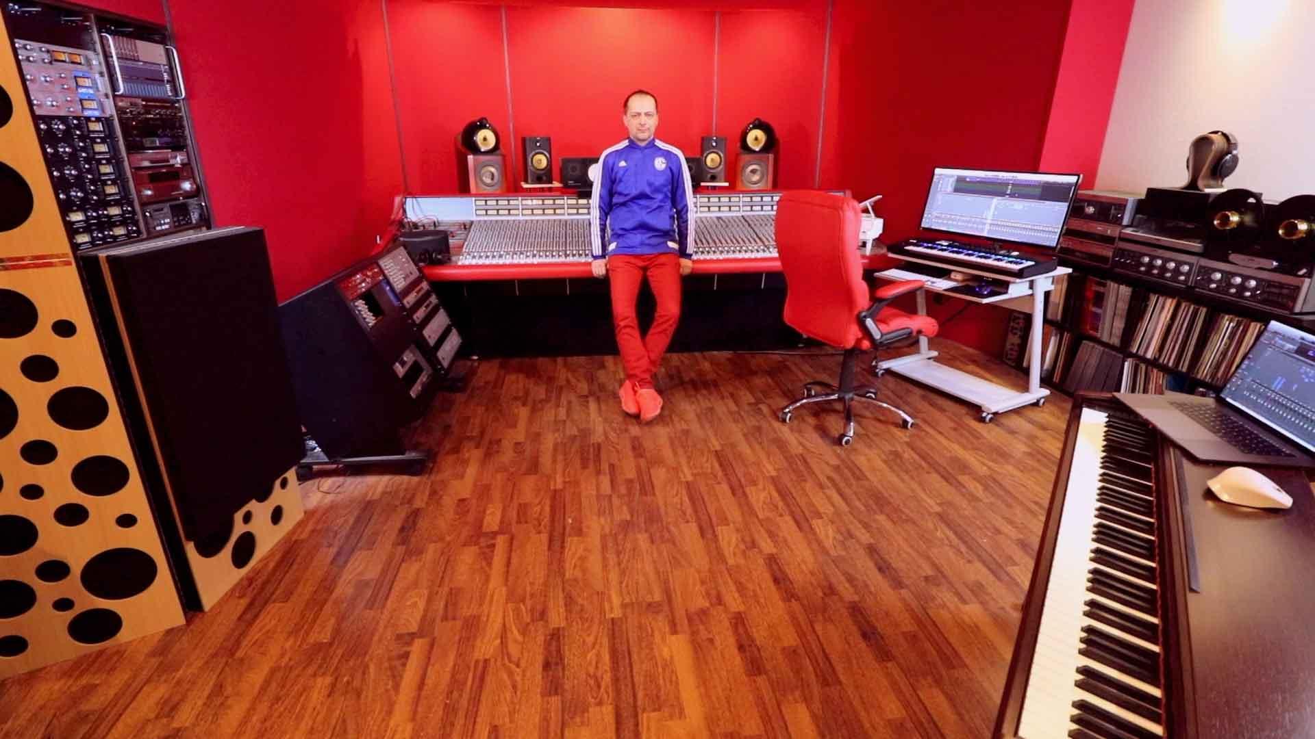 Marc Mozart SSL Studio Outboard Mix Temple